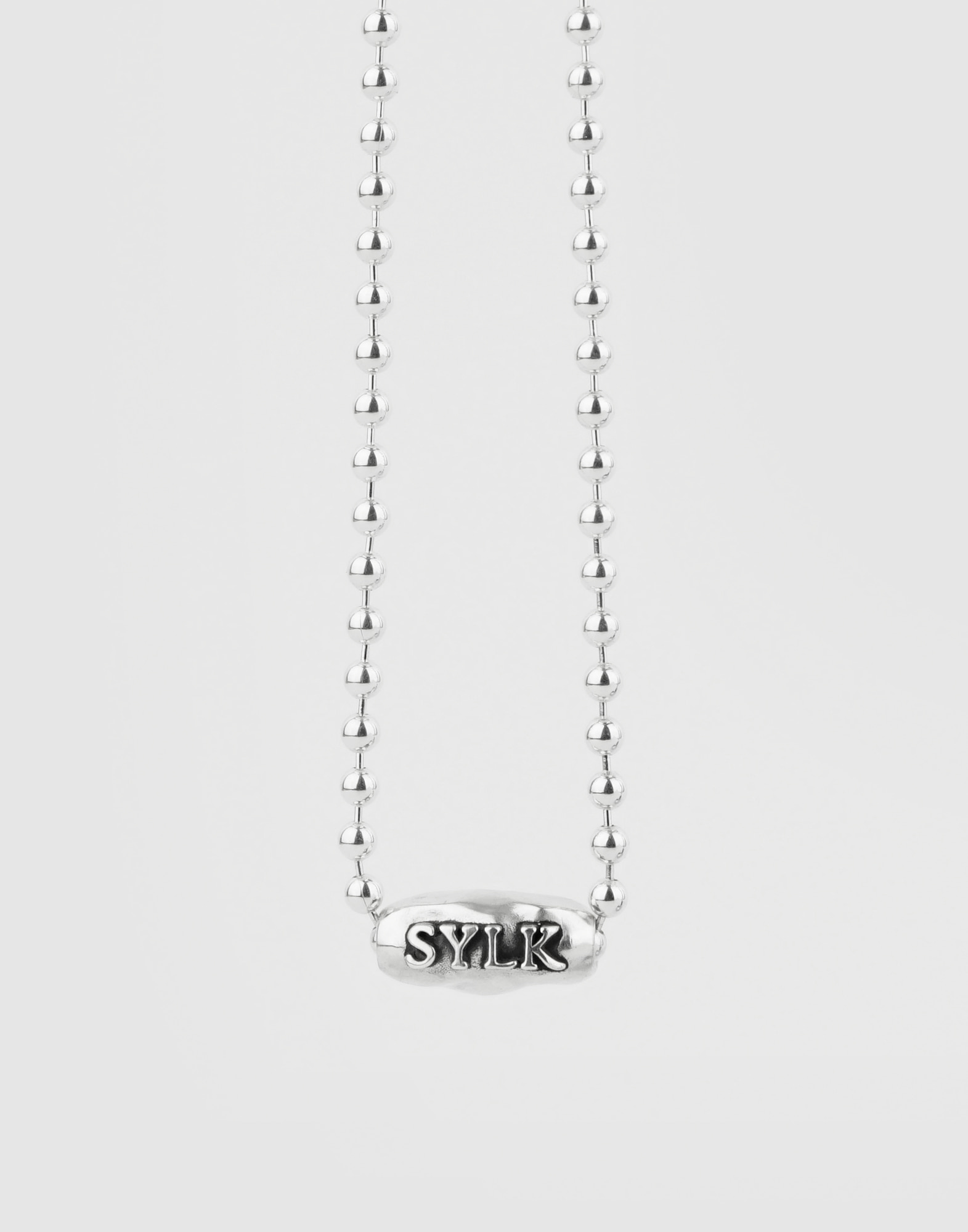 Oumuamua thin ball chain choker